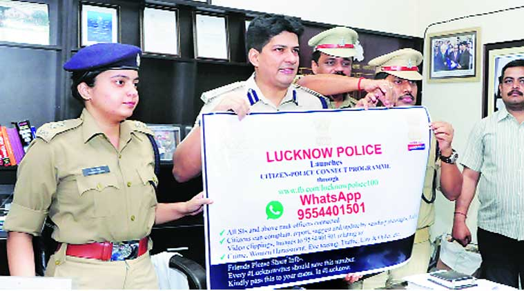 Whatsapp, lucknow police, police whatsapp, lucknow news, city news, local news