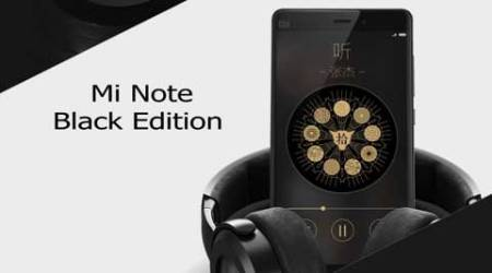 Xiaomi shows off Mi Note Black Edition, says Mi Note Pro will be available from 6 May