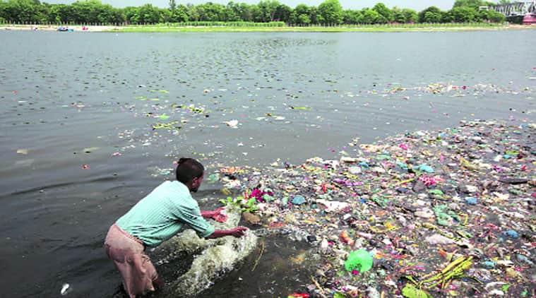 Yamuna pollution, river pollution, Yamuna CCTV cameras, DDA,  National Green Tribunal, Yamuna river pollution, debris dumping, delhi news
