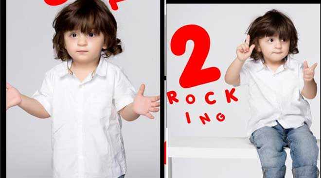AbRam's photoshoot on second birthday: SRK's li'l one is a star already