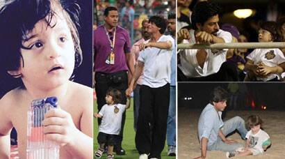 PHOTOS: Shah Rukh Khan's son AbRam turns 2: A look at his cutest pictures