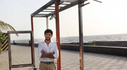 Shiv Sena leader Aditya Thackeray poses for a photoshoot in Mumbai