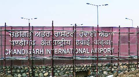 PPP, Chandigarh international Airport, airport name, protest, protest, chandigarh news, city news, local news, Chandigarh newsline, Indian Express