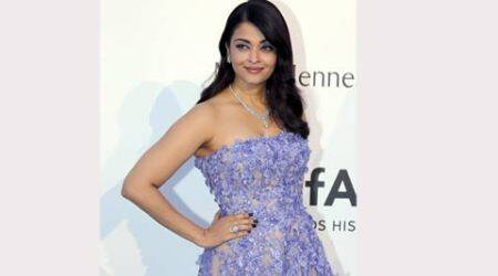 Cannes 2015: Aishwarya Rai Bachchan saves best look for last, glows in lilac Elie Saab at amfAR