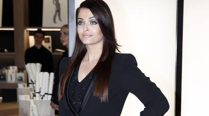 Aishwarya Rai Bachchan is fab at Armani show in Milan