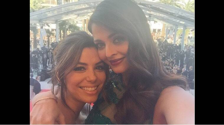 Aishwarya rai Bachchan, Eva Longoria, Cannes 2015