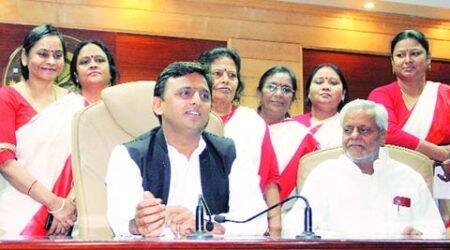 Akhilesh Yadav, Samajwadi party, Ram Naik, SP govt, Akhilesh Govt, lucknow news, city news, local news, UP news, Indian Express