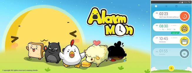 AlarmMon is created by Seoul-based Malang Studios