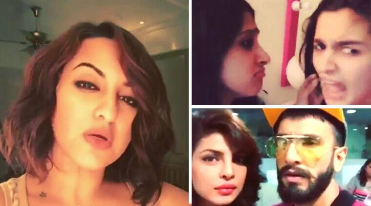 alia bahtt, sonakshi sinha, jacqueline fernandez, priyanka chopra, ranveer singh, alia bhatt dubssmash video, alia bhatt dubsmashing, sonakshi sinha dubsmash video, jacqueline fernandez dubsmash video, priyanka chopra dubsmash video, ranveer singh dubsmash video, alia bhatt video, sonakshi sinha video, jacqueline fernandez video, priyanka chopra video, ranveer singh video, entertainment news