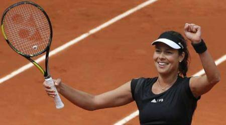 French Open: Ana Ivanovic through to the quarter-finals