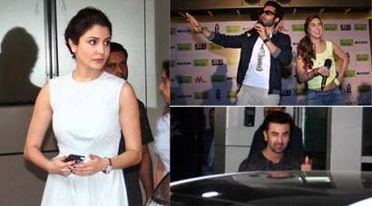 Anushka, Ranbir at Andheri; Lauren, Jackky promote their film