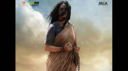 It's here: Anushka Shetty in 'Baahubali: The Beginning' poster