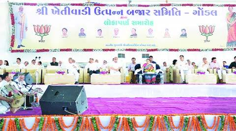 Anandiben patel, mango ripening centre, APMC, ahmedabad news, city news, local news, Gujarat news, Indian Express