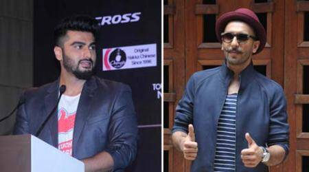 Feel fortunate that Ranveer and I get along well: Arjun Kapoor