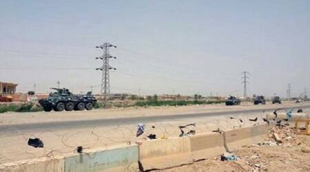 Iraqi military regains ground from Islamic State east of Ramadi