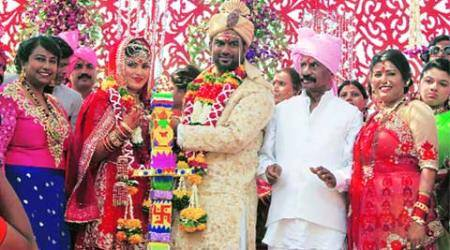 Gawli's son ties knot as cops keep an eye on his'movements'