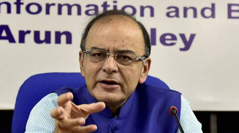 GST stalled, Arun Jaitley says Congress hurting economy