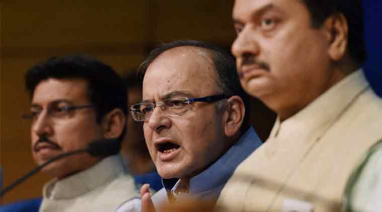 Arun Jaitley, AAP, Home Ministry notification