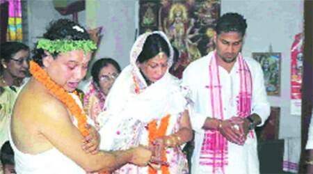 After 27 years of celibacy, Assam pontiff ties the knot