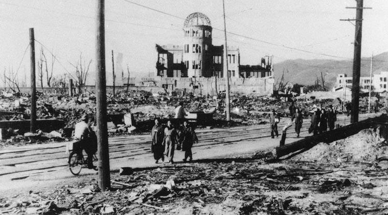 In the 60s, banthebomb became the slogan of those advocating nuclear disarmament. (Source: AP photo)