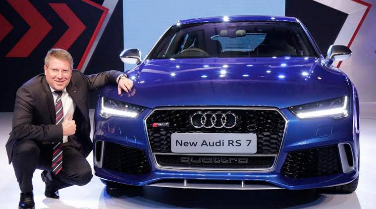 Audi Launches RS Sportback At Rs Crore In India The Indian - Cheapest audi car