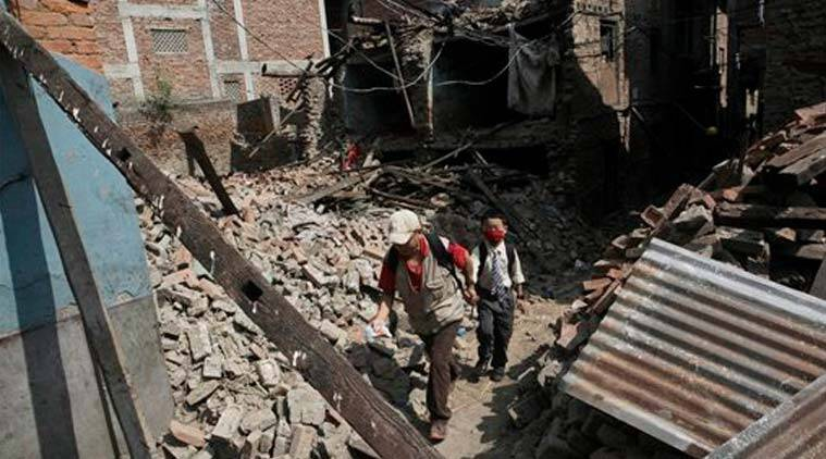 nepal earthquake, nepal earthquake army men, nepal army men, nepal Foreign military missions, Foreign military missions nepal earthquake, nepal earthquake news, indian express news