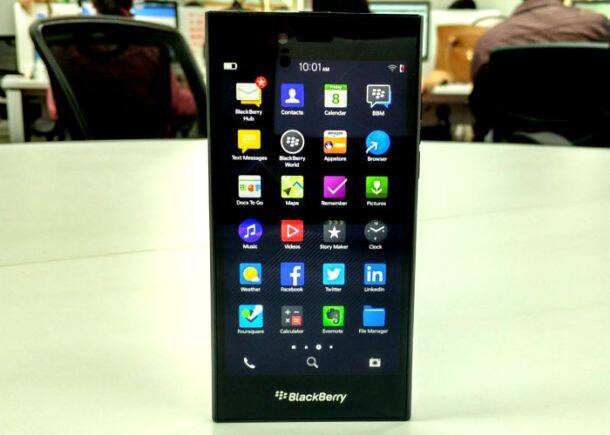 BlackBerry, BlackBerry Leap, BlackBerry Leap launch, BlackBerry Leap specs, BlackBerry Leap price, BlackBerry Leap India, smartphones, BalckBerry Leap review, technology news