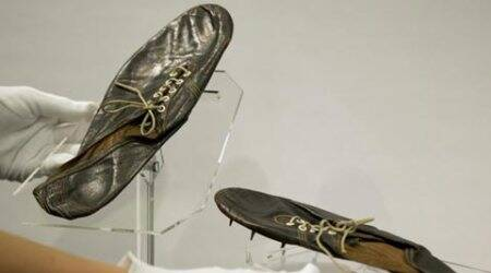 Roger Bannister, Roger Bannister Shoes, Roger Bannister Shoes auction, Bannister shoes, Bannister shoe auction, Sports News, Sports