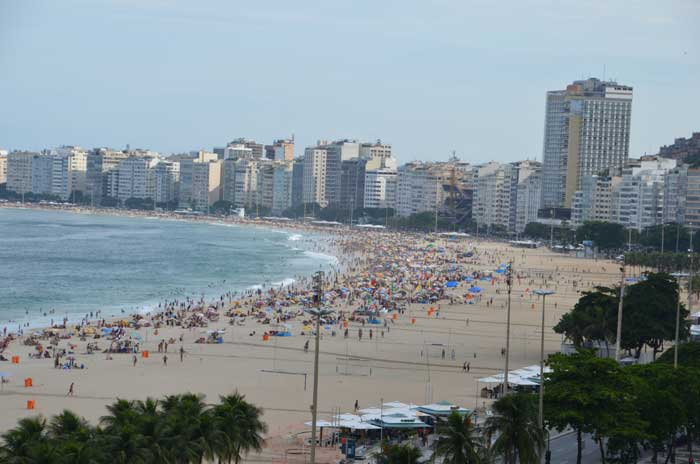 Copacabana Beach (Source: Sandip Hor)