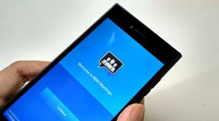BlackBerry SIm virtualisation, BlackBerry BBM Meeting, BlackBerry Leap, technology news