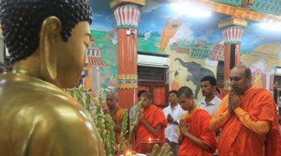 India celebrates Buddha Purnima