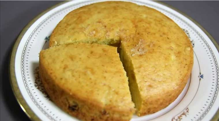 Eggless Mango Cake recipe (Source: nishamadhulika.com)