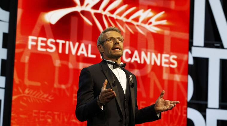 cannes, cannes 2015, cannes film festival, cannes 2015 closing ceremony, Lambert Wilson, Lambert Wilson atc annes, cannes closing ceremony, cannes film festival closing ceremony, dheepan, cannes ceremony, cannes pictures, cannes events, cannes news, cannes 2015 updates, cannes closing event, entertainment news