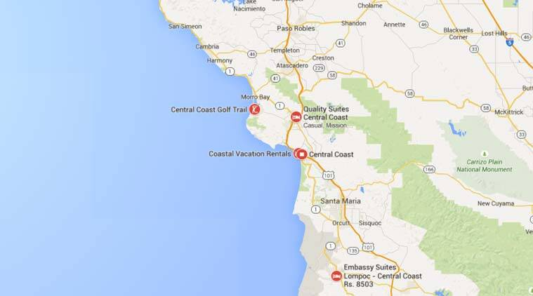 California coast: Oil pipeline spills about 21K gallons into the