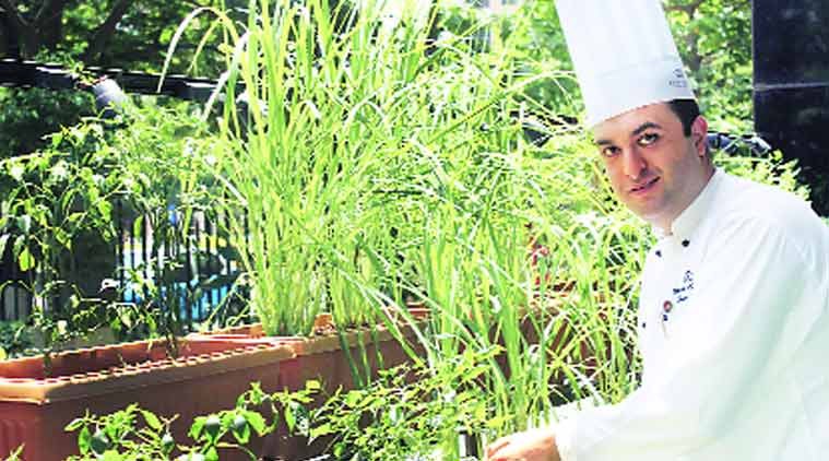 Chef Maher Omran started cooking in his mother's kitchen (Source: Express Photo by Pradip Das)