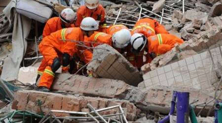 china building collapsed, china building, building collapse, guiyang building collapse, china news, guiyang news, world news