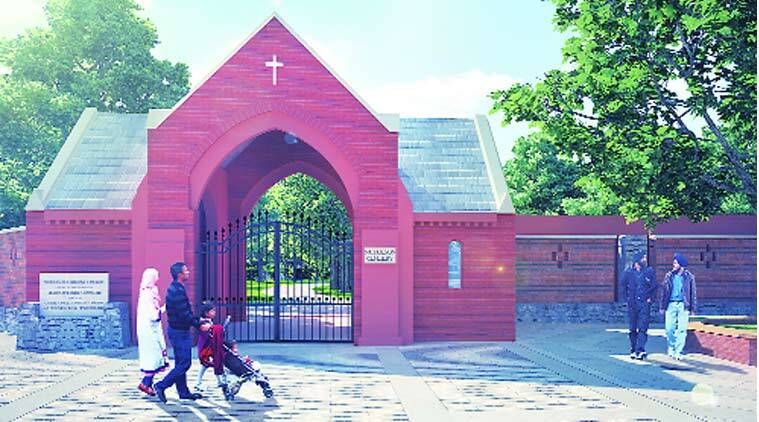 Christian Cemetery, DUAC, revamp Christian Cemetery, UDM, delhi news, city news, local news, Indian Express