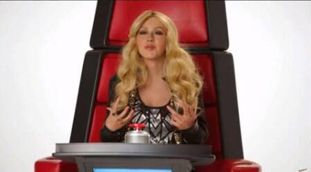 Christina Aguilera, Miley Cyrus, Britney Spears, Shakira, The Voice, the voice promo
