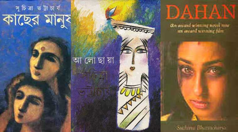 (From left to right: Book covers of Kachcher Manush, Alochchaya and Dahan