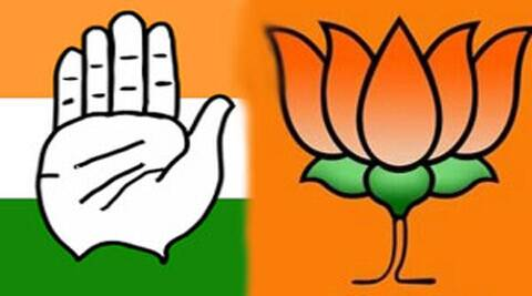 congress, bjp, sec, state election commission, amc, ahmedabad municipal corporation, ahmedabad news, india news