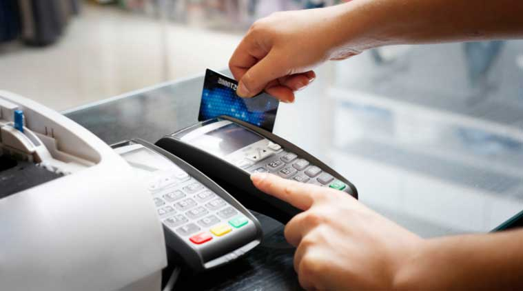 Debit cards transactions slow credit cards grow the indian express credit card debit card usage credit card usage credit card bill payment reheart Images