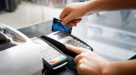 Debit cards transactions slow, credit cards grow