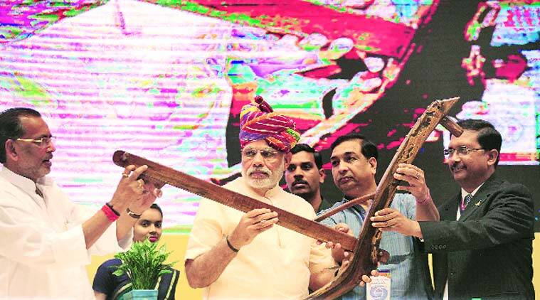 Narendra Modi, Modi one year, DD Kisan launch, Doordarshan, DD Kisan, one year of Modi government, Modi report card, PM Narendra Modi, indian farmers, DD Kisan, Prasar Bharati, tv channel for farmers, nation news, indian express