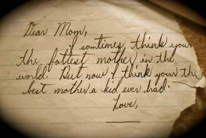 DearMomLoveBlank