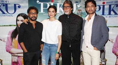 'Piku'  Deepika's busy Saturday with onscreen dad Big B