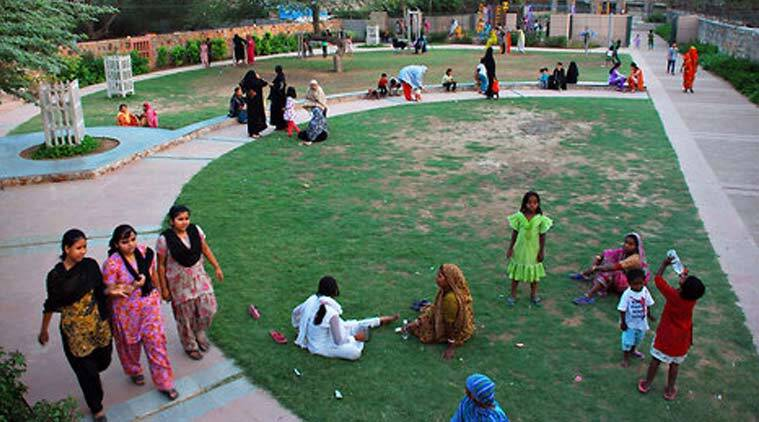 mumbai, playground, mumbra, playground for women, sports, muslims, muslims in mumbai, all women playground, mumbra, mumbai news, indian express news