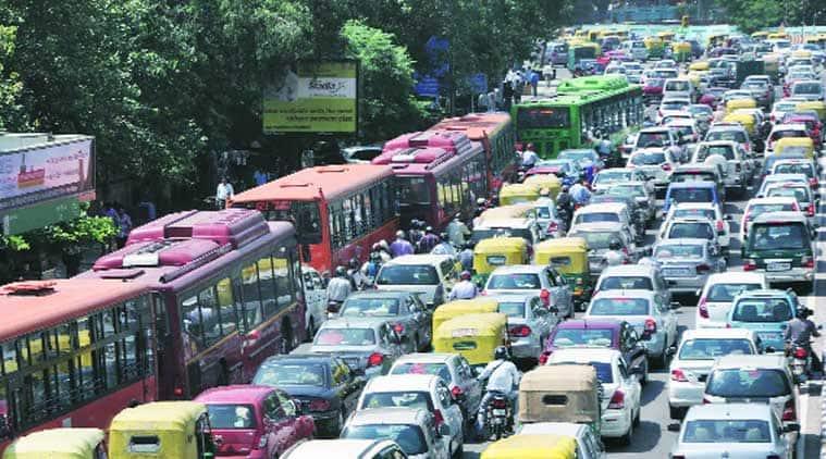 new delhi traffic, new delhi traffic congestion, delhi traffic, delhi news, delhi traffic, east west delhi corridor, delhi corridor, delhi news, india news