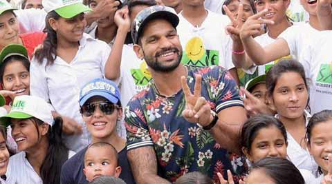 Indian Cricket Team, India Cricket, Cricket India, Shikhar Dhawan, Dhawan, India vs Bangladesh, Bangladesh vs India, IPL, IPL 2015, IPL 8, Cricket News, Cricket