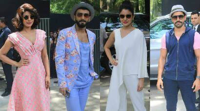 Ranveer Singh, Anushka Sharma, Priyanka Chopra kick off 'Dil Dhadakne Do' promotions with a brunch