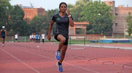 In year of struggle, Dutee Chand makes Asian squad
